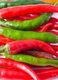 горячий перец Стоковая Фотография