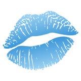 горячий поцелуй Стоковые Изображения RF