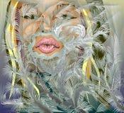 горячий поцелуй Стоковая Фотография RF