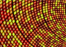 горячий ретро вектор звезды Стоковые Фотографии RF