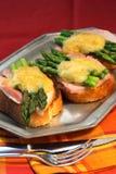 горячий сандвич Стоковая Фотография RF
