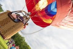 Горячий старт воздушного шара Стоковое Изображение RF