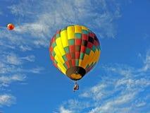 Горячий стул воздушного шара Стоковые Изображения