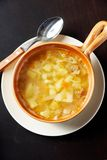 горячий суп Стоковое фото RF