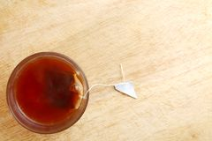 Горячий чай в стекле Стоковое Изображение RF