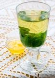 Горячий чай мяты Стоковое фото RF