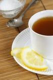 горячий чай стоковое фото rf