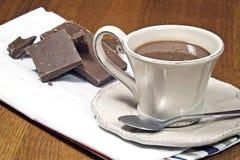Горячий шоколад Стоковое Изображение