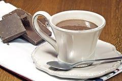 Горячий шоколад Стоковые Изображения
