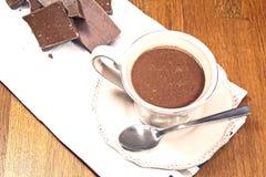 Горячий шоколад Стоковое фото RF
