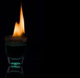 горящая вода Стоковое Изображение RF