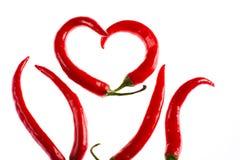 горящая горячая влюбленность Стоковая Фотография RF
