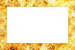 горящая рамка Стоковые Фото