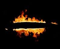 горящая рамка Стоковое Изображение