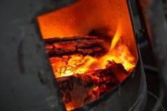 горящая решетка пламени швырка Стоковая Фотография RF