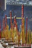 горящая ручка ладана Стоковое Изображение RF
