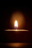 Горящая свечка Стоковые Фотографии RF