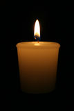 горящая свечка Стоковые Фото