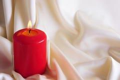 Горящая свечка Стоковое Фото