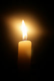 горящая свечка Стоковая Фотография RF