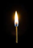 горящая спичка Стоковые Фотографии RF