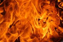 горящая текстура пламен Стоковые Изображения