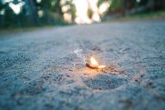 горящее желание Стоковая Фотография RF