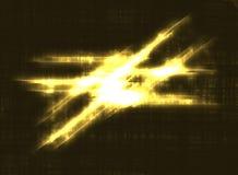 горящие линии Стоковая Фотография