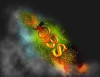 горящие работы Стоковое Изображение