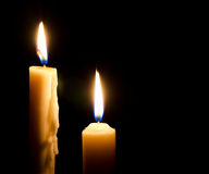Горящие свечи Стоковые Фотографии RF