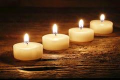 Горящие свечи Стоковое Фото