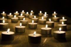 Горящие свечи стоковое изображение rf