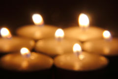 Горящие свечки Стоковое Изображение RF
