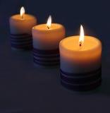 Горящие свечки Стоковые Фотографии RF