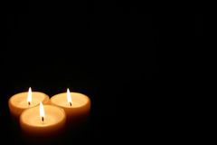 Горящие свечки Стоковая Фотография