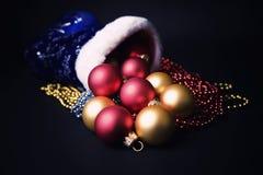 горящие свечки украшений рождества Стоковые Изображения RF