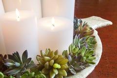 горящие свечки Стоковые Фото