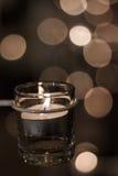 горящие свечки Стоковое Изображение