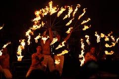 Горящие факелы Стоковая Фотография RF