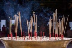 горящий ладан Стоковые Изображения RF