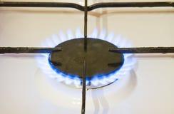 Горящий газ Стоковое Фото