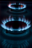 Горящий газ Стоковая Фотография RF
