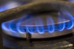 горящий газ Стоковое Изображение RF