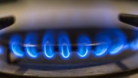 горящий газ Стоковое фото RF