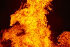 горящий пожар костры Пожаротушение и зажигание пламени предупреждение стоковое изображение rf