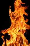 горящий пожар Стоковое фото RF