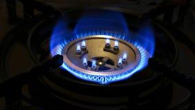 Горящий природный газ Стоковое Изображение RF