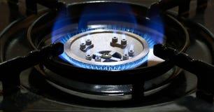 Горящий природный газ Стоковые Изображения