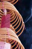 Горящий спиральн ладан Стоковая Фотография RF