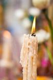 Горящий старый год сбора винограда свечи Стоковые Фотографии RF